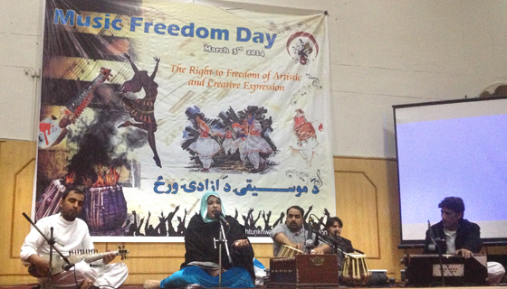 Music Freedom Day 2014 in Islamabad.